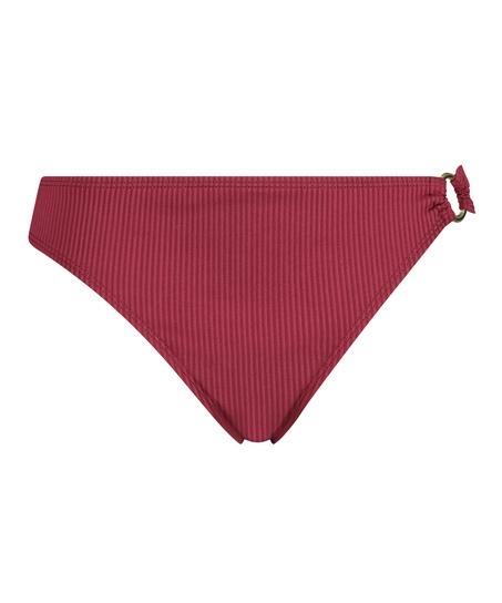 Rio-Bikinihöschen Golden Rings, Rot