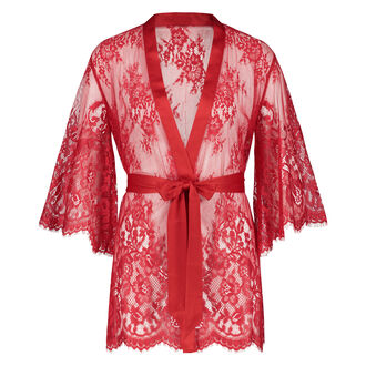 Kimono Lace Isabelle, Rot