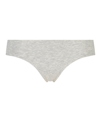 Invisible String aus Baumwolle, Grau