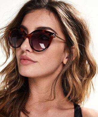 Sonnenbrille, Braun
