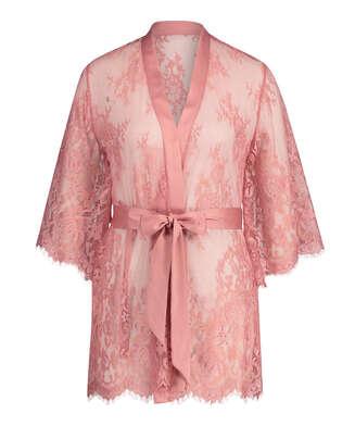 Kimono Allover Lace Isabella, Rose