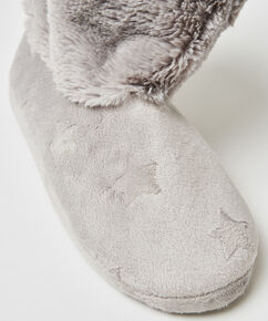 Slipper Stern, Grau