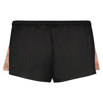 Pyjama-Shorts Satin Nightshade Doutzen, Schwarz