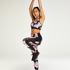 HKMX Sportlegging mit regulärer Taille Level 2, Schwarz