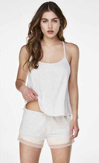 Pyjamaset Short, Grau