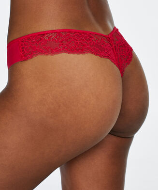 Invisible String Lace Back, Rose