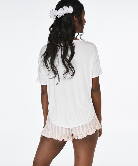 Pyjamaset Jersey Bride, Weiß