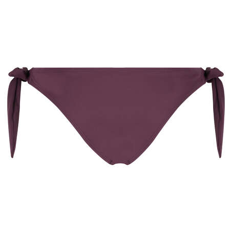 Tief sitzender frecher Bikini-Slip Borneo Mesh, Lila