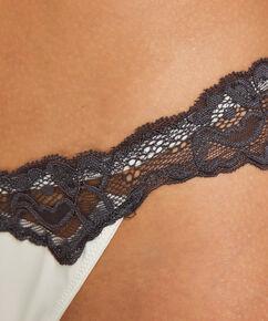 String Secret Lace, Weiß