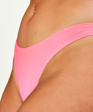HKMX Niedriger Cheeky-Bikinislip, Rose