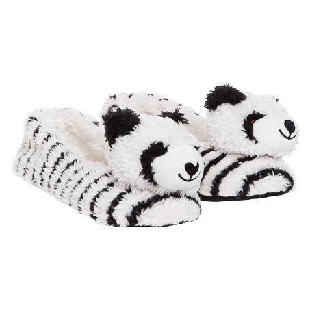 Ballerina slippers Animal Panda, Weiß