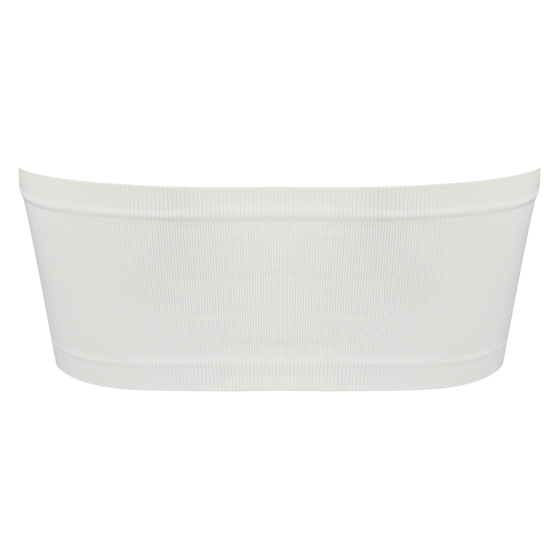 Bandeau-Top, Seamless, Weiß, main