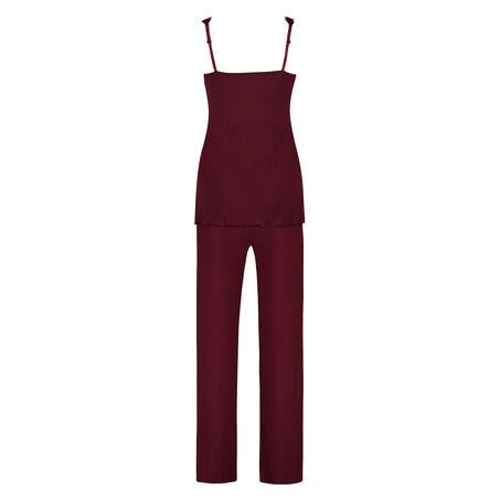 Pyjamaset Modal lace, Rot