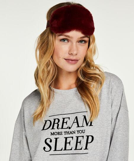 Schlafmaske Dreamer, Rot