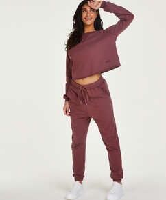 Tall Jogger Sweat French, Rose
