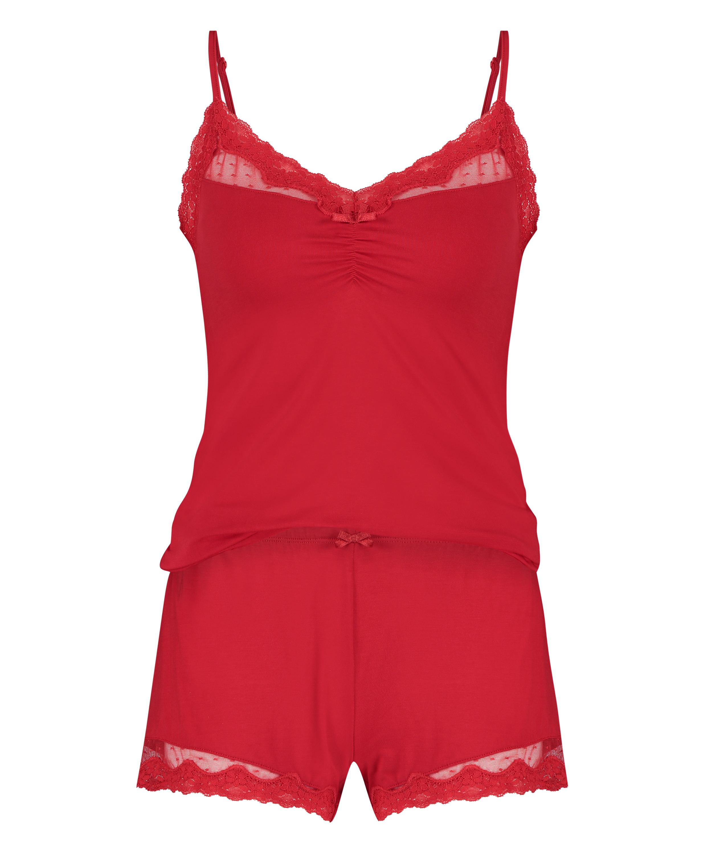 Pyjamaset, Rot, main