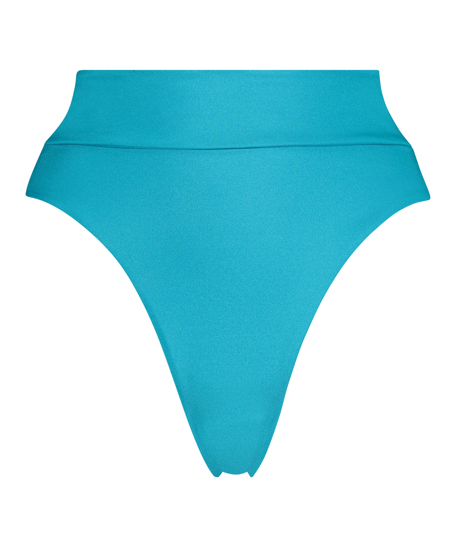 Hoch geschnittener Bikini-Slip Celine, Blau, main