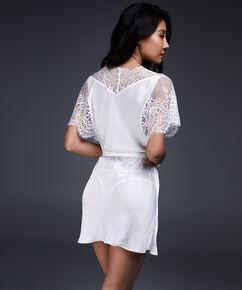 Kimono Cap Sleeve, Weiß