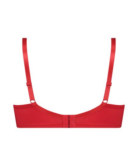 Unwattierter Minimizer-Bügel-BH Nina, Rot