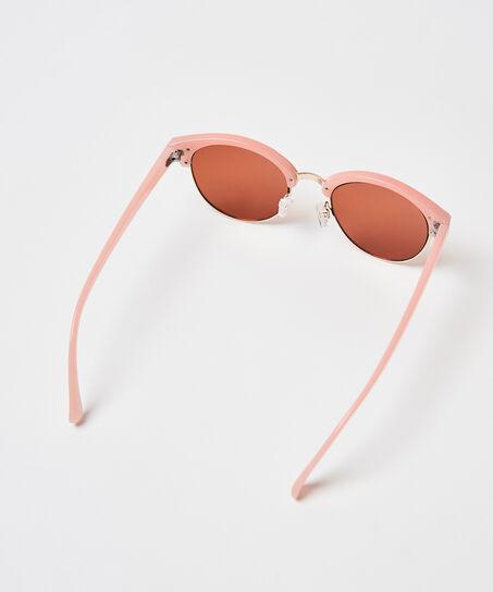 Sonnenbrille Mirror, Rose