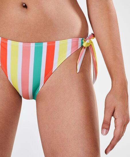 Tanga-Bikinislip Tropics, Weiß