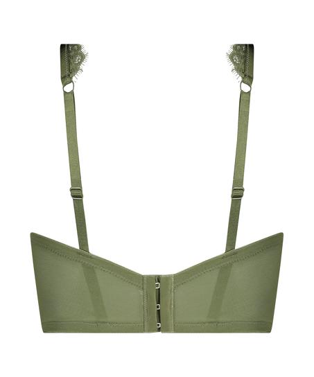 Unwattierter Bügel-BH Marilee, grün