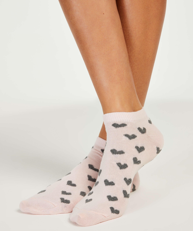 2 Paar Socken, Grau, main