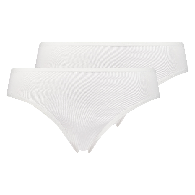 2er-Pack Slip Kim Cotton, Weiß, main
