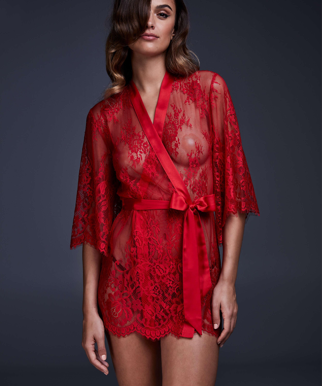 Kimono Lace Isabelle, Rot, main