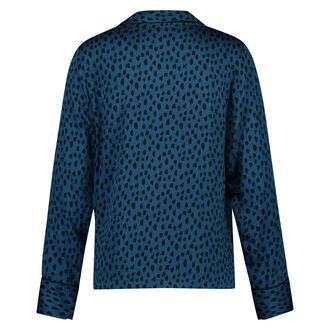 Pyjamatop Woven, Blau