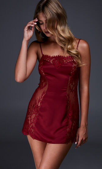 Slipdress Jennifer, Rot