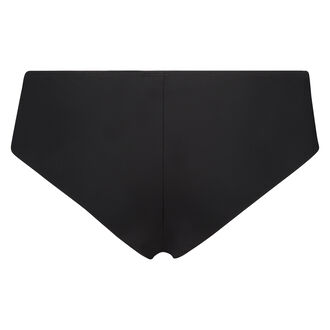 Slip Satin Fleece, Schwarz