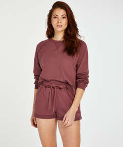 Shorts Sweat French, Rose