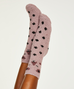 2 Paar Cosy Socks, Rosa