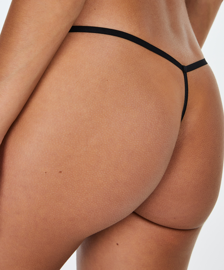 Invisible T-String Micro, Schwarz