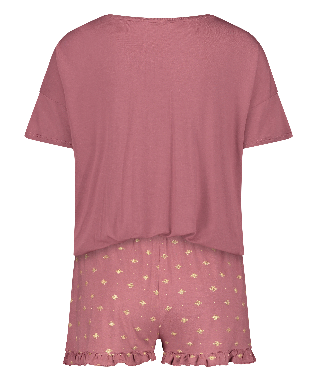 Kurzes Pyjamaset, Rosa, main