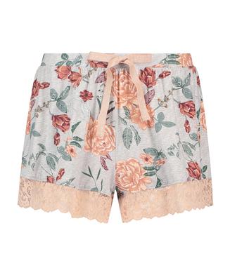 Jersey-Shorts, Grau