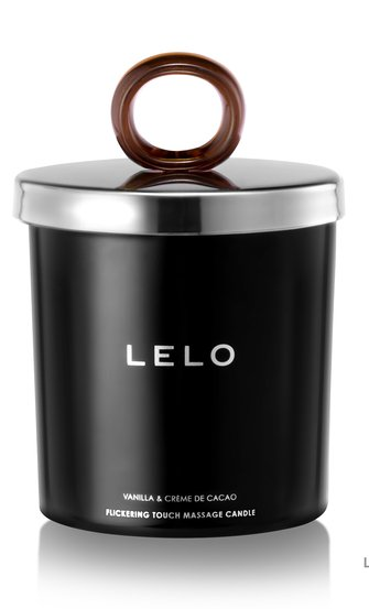 LELO Massage Kerze Vanilla & crème de Cacao, Braun