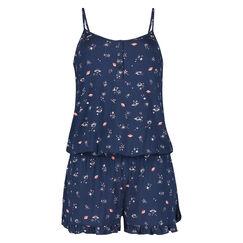 Onesie Short Jersey, Blau
