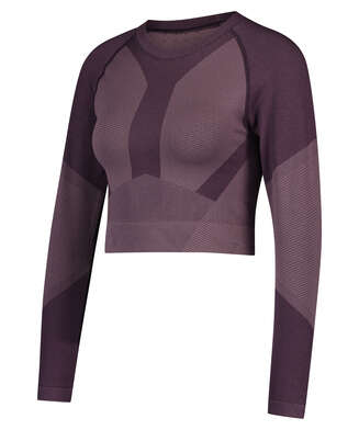 HKMX The Motion Crop Top, Lila