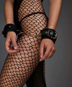 Handschellen Snake , Schwarz