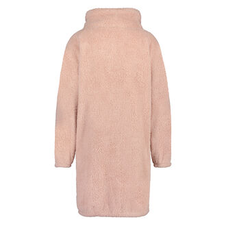 Bademantel Fleece Reißverschluss - Pink Ribbon, Rose