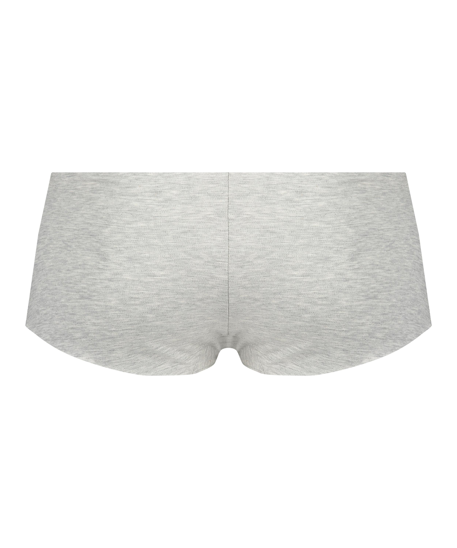 Invisible Boxer aus Baumwolle, Grau, main