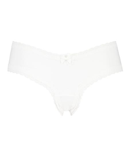Brazilian in V-Form London, Weiß