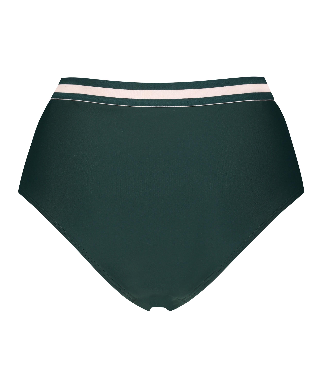 Hoher frecher Bikini-Slip Pinewood, grün, main