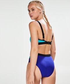 HKMX Hohes freches Bikini-Höschen, Blau
