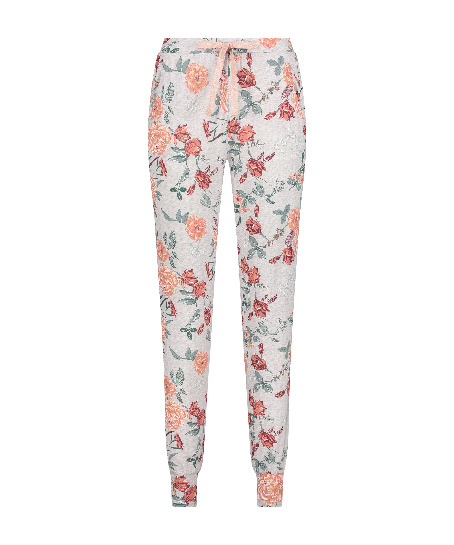 Pyjamahose aus Jersey, Grau, main