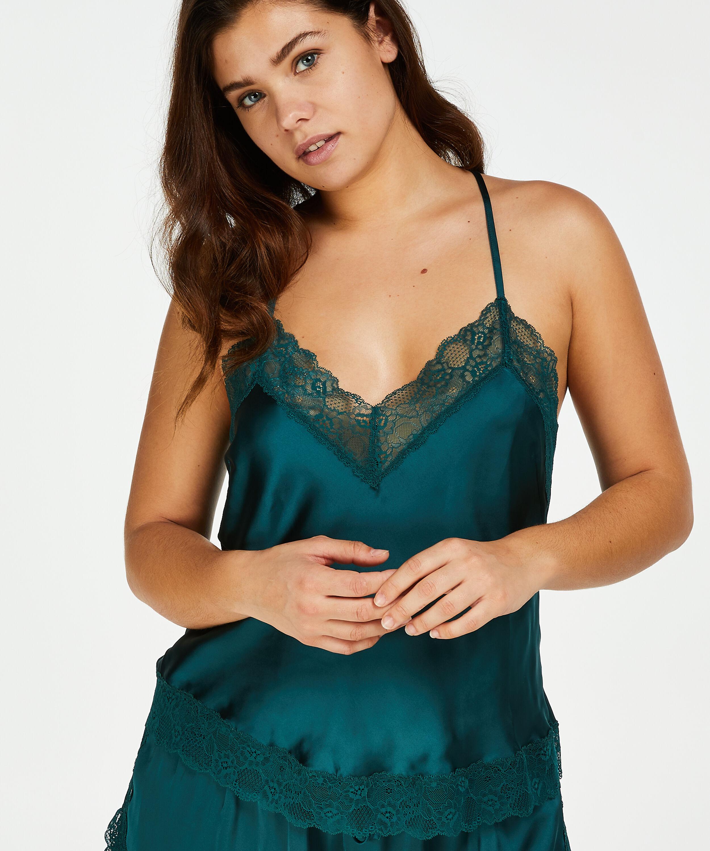 Hunkem/öller Damen Pyjamashorts gewebt