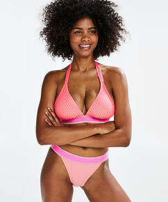 Triangel-Bikinitop Flash Dance, Rose