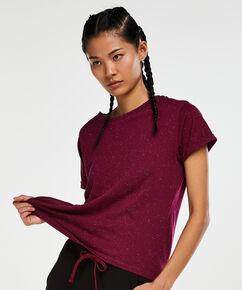 HKMX Kurzarm-Sportshirt, Lila